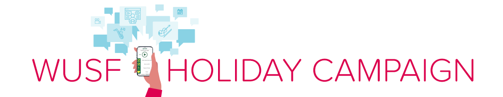 WUSF Holiday Campaign