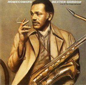 Cover Art for Dexter Gordon's Homecoming: Live At The Village Vanguard Album, Wikipedia