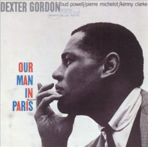 Cover Art for Dexter Gordon's Our Man in Paris Album, Allmusic