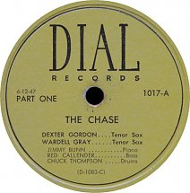 The Chase Original 78 RPM release, 45worlds.com